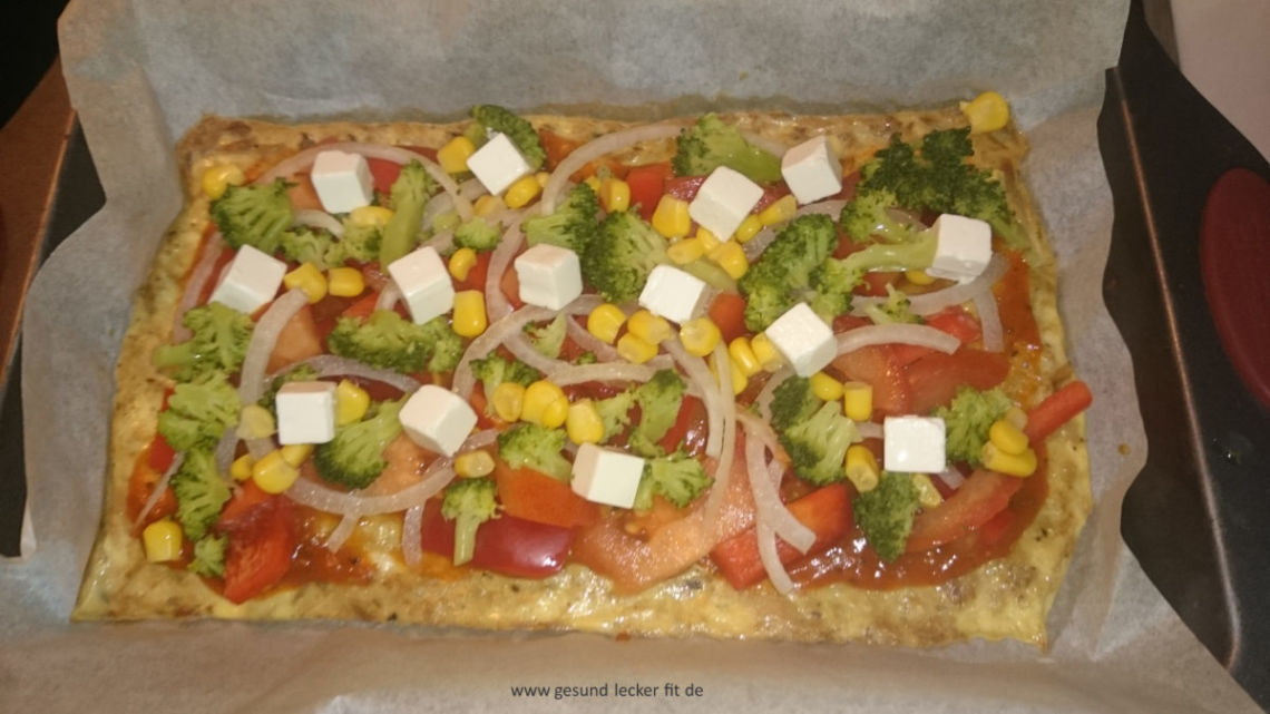 Low Carb Pizza -