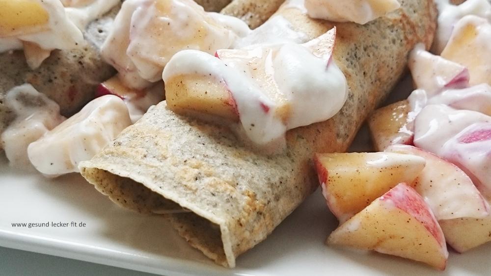 Dinkel-Hanfmehl Pfannkuchen -