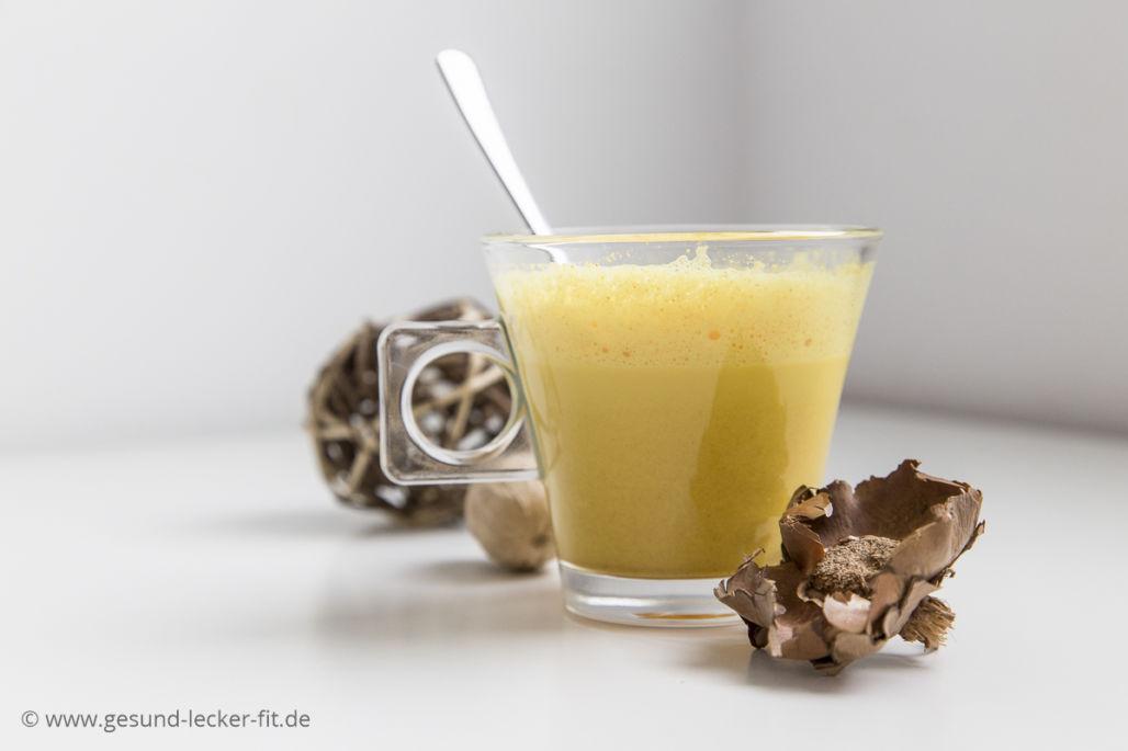 Goldene Milch: gesundes Heilmittel -