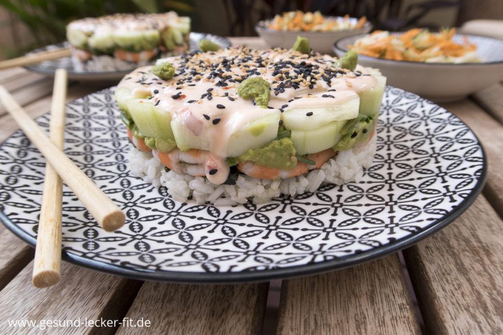 Sushi Torte -