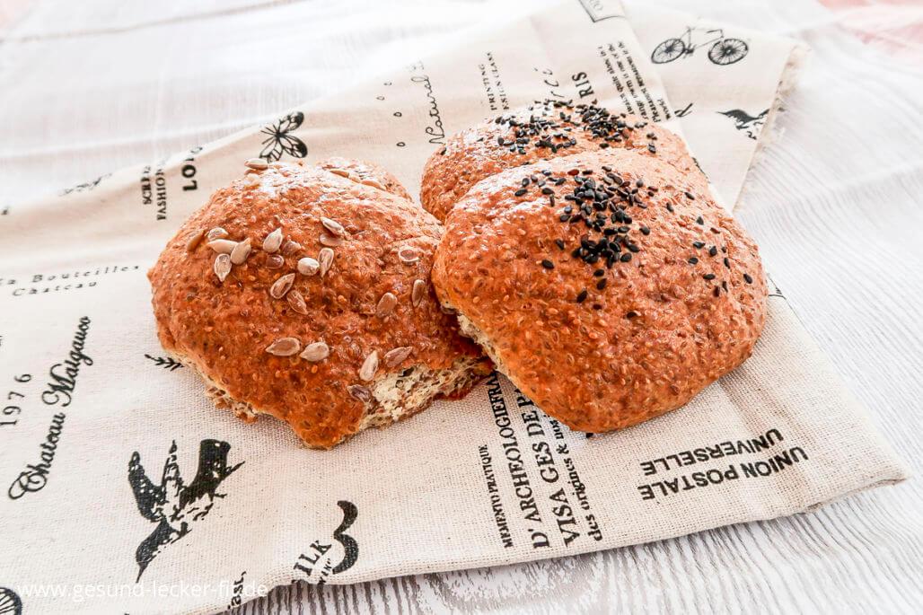 glutenfreie Brötchen mit Frischkäse -