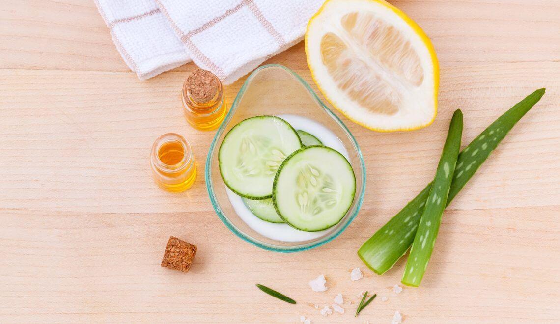 Hautpflege: Ernährung und unreine Haut