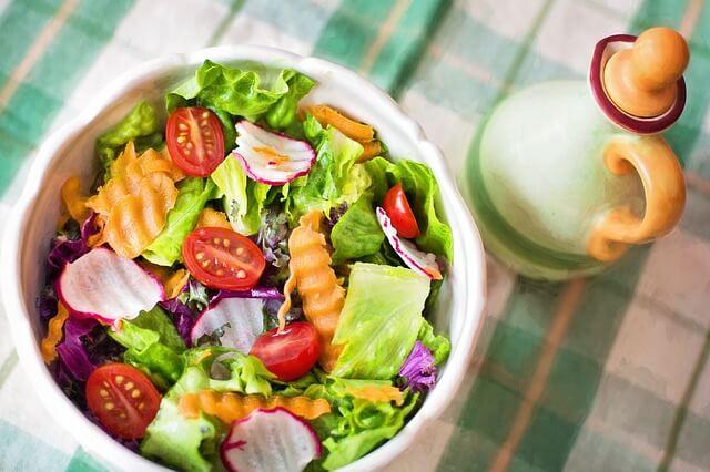 Ernährungsplan für einen Tag -