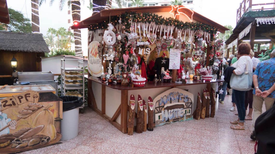 Deutscher Weihnachtsmarkt auf Gran Canaria -