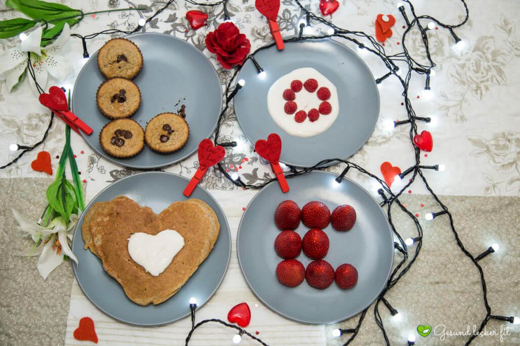 Süße Ideen zum Valentinstag - glutenfrei Paleo vegan