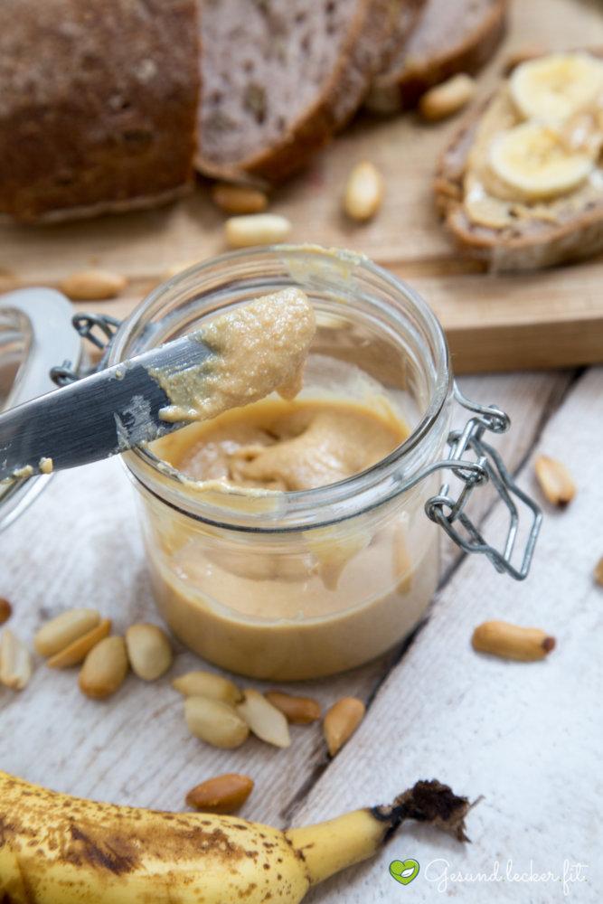 Erdnussbutter Rezept - besser als gekauft! -