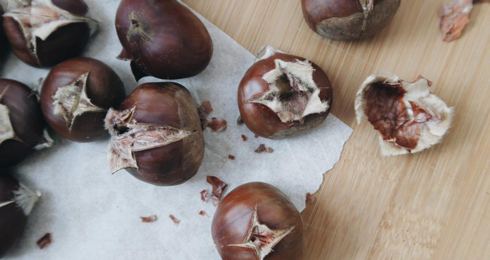 Kastanien aus dem Ofen -
