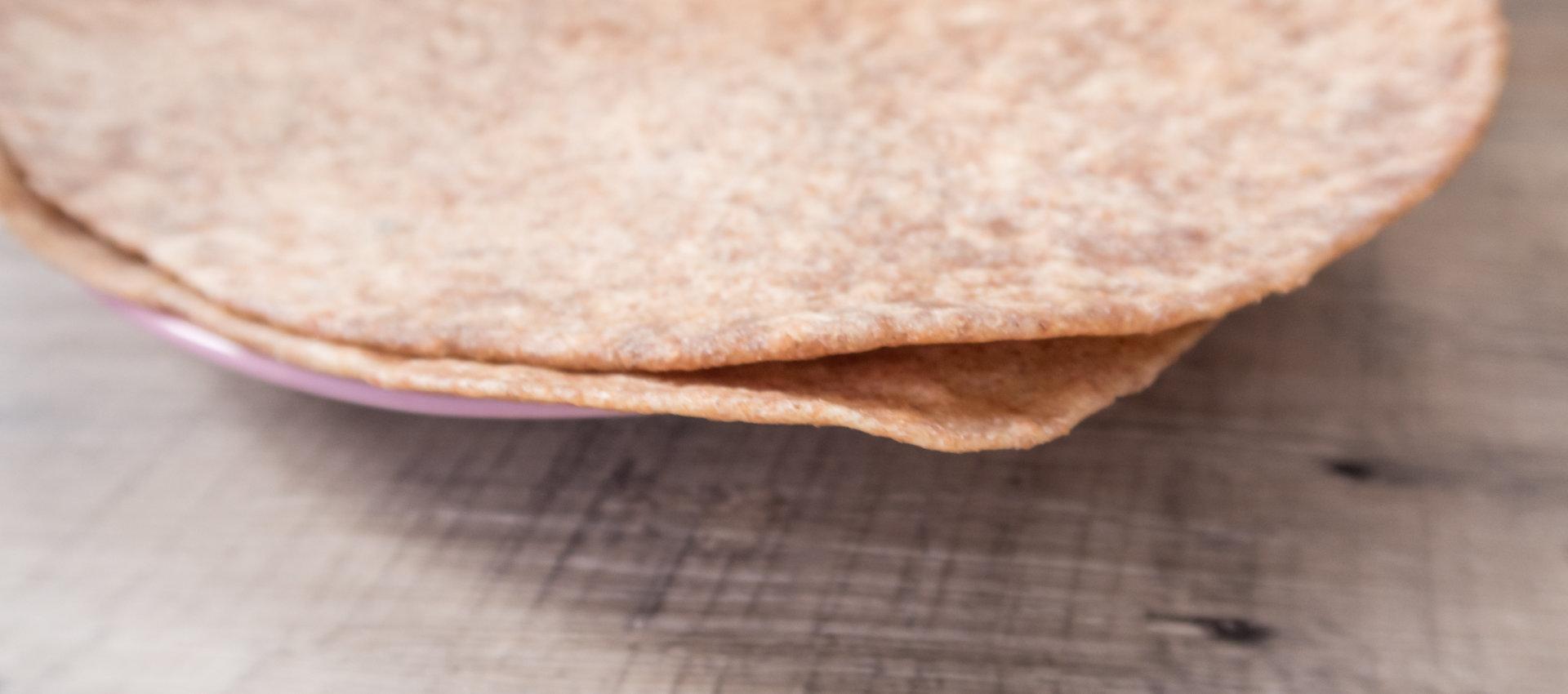 Tortilla Wraps selber machen -