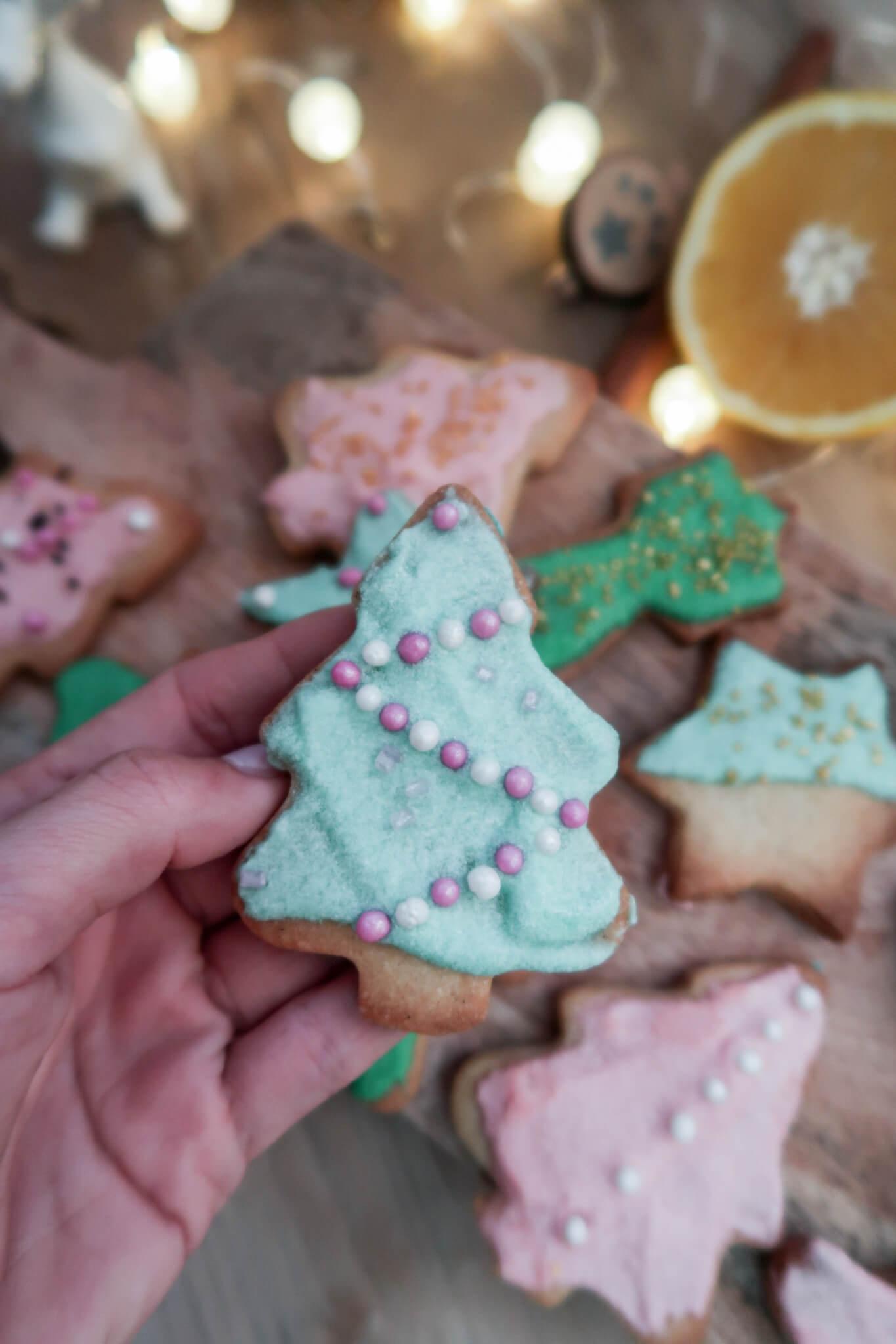 klassische Weihnachtskekse -